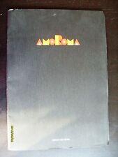 PORTOFOLIO AMOROMA CON PRATT, MANARA, PAZIENZA, CREPAX,  ED. DEL GRIFO 1985