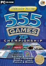 Ultimate Juegos - 555 Juegos (Pc Cd), muy buen Windows 2000, Windows 98, ventana V