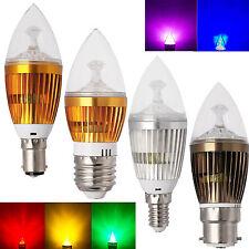 E27 E14 B15 B22 Lámpara de araña LED Bombilla tipo vela 6w 8w 10w ALTA