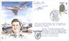 TP26 RAF 30th Ann HP Victor flown Hazelden cover signed pilot