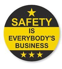 Safety Hard Hat Decal Hardhat Sticker Helmet Label H218