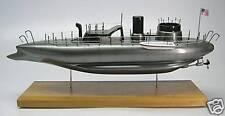 USS Keokuk US Navy Ironclad Steam Warship Desk Wood Model Big New