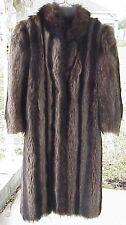 Vintage Silver Tip Raccoon Fur Coat Hudsons Detroit Mi