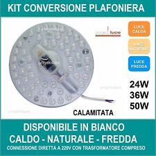 CIRCOLINA LED con CALAMITA 24W  36W 50W  SOSTITUZIONE NEON CIRCOLARE