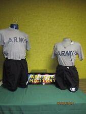 Army PT Uniform Set Shorts & Shirt Military IPFU Physical Fitness Small - 2x