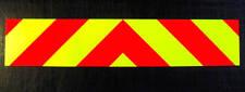 Self Adhesive Chevrons Reflective + Fluorescent 1000mm