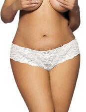 Brand New 8-24 Lace Womens White Underwear Undies Panties Plus Size Lingerie