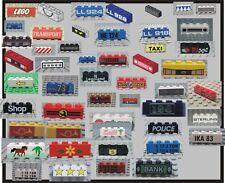 Lego Accessori 3010 Brick Decorati 4x1  Spazio Città Entra nel negozio e scegli