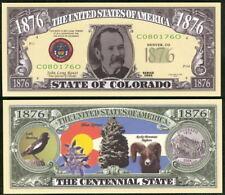COLORADO STATE QUARTER NOVELTY BILL - Lot of 2 Bills
