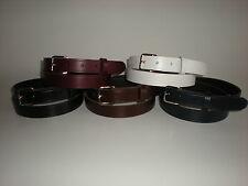 Calidad cinturones de cuero para hombres y mujeres pequeñas a XX Grande £ 5,99 Cada