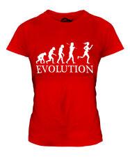 DISABILITY SPORT RUNNER (FEMALE) EVOLUTION LADIES T-SHIRT TEE TOP GIFT