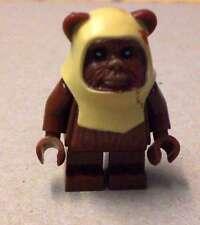Lego Star Wars Paploo Ewok Ewoks Figur Figuren Endor Episode 6 VI braun Neu