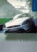 Ford Puma 1999-2000 UK Market Sales Brochure 1.4i & 1.7i