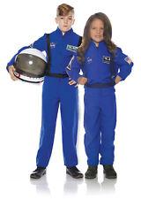 Astronaut Blue Child Outer Space Explorer Costume Flight Suit