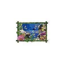 Sticker mural trompe l'oeil déco aquarium réf 945