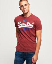 NUOVA linea uomo Superdry Premium merci Tri Manica Lunga T-shirt nera