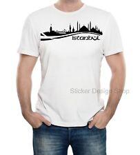 Istanbul T-Shirt Druck Türkiye Türkei Neu Unisex Baumwolle Fruit of The Loom