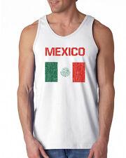 446 Mexico Flag Tank Top latino immigrant pride Tijuana latin amigo vintage new