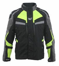 Nuova giacca BERIK moto mod.TOURING-S 2.0 giallo flou nero triplo strato