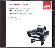 Muti & Anne-Sophie mère: MOZART VIOLIN CONCERTO 4 Tchaïkovski Symphony No. 4 CD