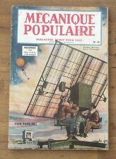 Mecanique populaire,1947 N° 18