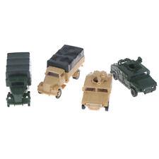 1:72 4D Hummer Missiles Truck Assemble Model Military Children Toy Boy Gift HC