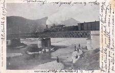 * VENTIMIGLIA - Ponte della Ferrovia, Treno 1904