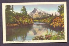 Mt Rundle BANFF NATIONAL PARK CANADA Postcard