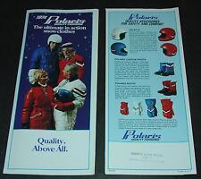 1974 POLARIS SNOWMOBILE CLOTHING SALES BROCHURE NICE