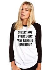 Sicuramente non tutti erano Kung Fu combattimento Divertente Slogan Felpa Da Uomo /& Gioventù