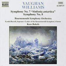 "1 of 1 - Vaughan Williams: Symphonies Nos. 7 ""Sinfonia antartica"" & 8 -  CD LDVG"