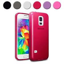 Coque étui housse pour Samsung S5 Mini souple couleur au choix + film écran