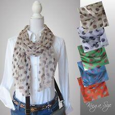 eb6762392da452 Schals & Tücher in Stil:Schal, Material:Polyester, Muster:Gepunktet ...