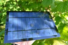 Polycrystalline Solar Panel 5.5 watts. 26cm x 18cm 4.5v 5v 5.5v & 6v models