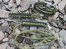 550 paracord set - bracelet - lanyard - keyfob