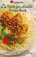 Taste for Health Recipe Book SC 1995