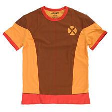 Marvel X-Men I Am Retro Wolverine Mens Brown Shirt