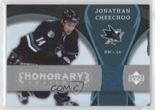 2007-08 Upper Deck Trilogy Honorary Swatches HS-CH Jonathan Cheechoo Hockey Card