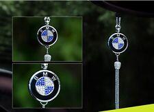 Original CAR diamond logo Perfume Air Freshener Rearview Mirror Perfume Pendant