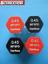 1 Danfoss SFD hfd Boquilla ACEITE inyectores de Tamaños 0,40 0,45 0,50 0,60