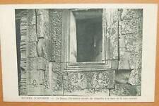 INDOCHINA VIET NAM - RUINES D'ANGKOR - BAYON DECORATION MURALE