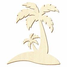 Holz Palmeninsel - Deko Basteln 5-50cm
