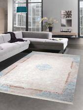 Tapijt designer tapijt ornamenten tapijt in beige turquoise crème