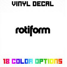 Rotiform Wheels Sticker | Car Rims Vinyl Die Cut Decal *Multiple options*