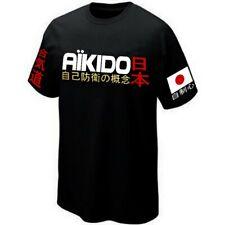 AÏKIDO JAPAN NIPPON MARTIAL ART T-SHIRT Silkscreen