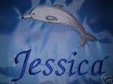 Personalised Dolphin Swimming/School/PE Drawstring Bag