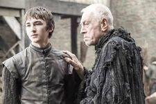 "Hempstead-Wright/Von Sydow [Game of Thrones] 8""x10"" 10""x8"" Photo 59843"