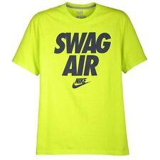 "Nike ""Swag Air"" T-Shirt Cyber/Navy Men's Small, Medium, Large, XL BNWT"