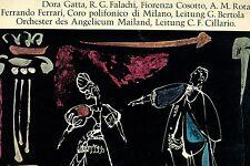 MOZART LUCIO SILLA GATTA FALACHI COSSOTTO ROTA FERRARI CILLARIO LP L6362