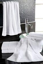 10-120x Handtuch 50x100 cm weiß 100% Baumwolle Frottier *Hotel-Qualität*